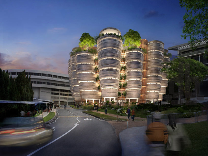 Singapore's Communal Learning Towers
