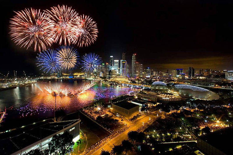 New Year and Christmas Singapore