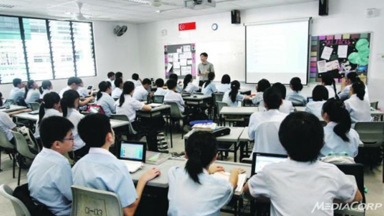 singapore-students
