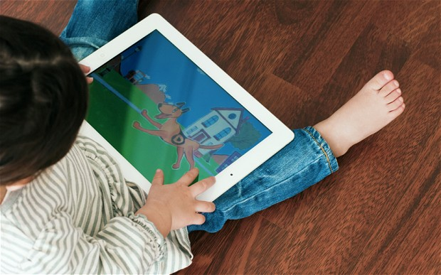 Toddlers with Technology