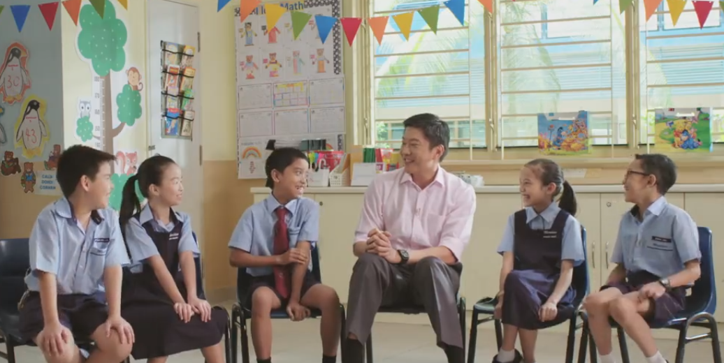 I was quite mischievous and got a big fat Zero, Says Mr Meng to School Kids